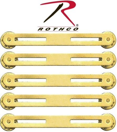 YOU GET Military Issue Brass Double Ribbon Mount Rothco 71002 5