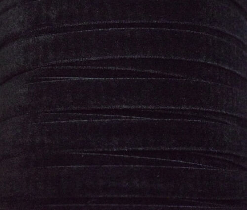 Sewing 1380 Cut to Length 9mm Velvet Ribbon Trim 28 Lovely Colours Crafts