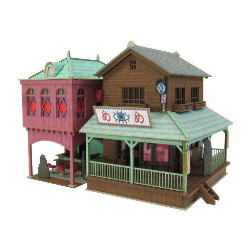 [Miniatuart] Limited Edition `Spirited Away` Strange Town 2 (Unassembled Kit) 1