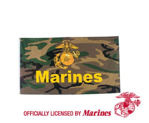OFFICIALLY LICENCED US MARINES 3 FEET X 5 FEET FLAG