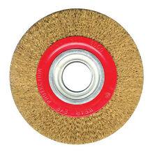 150mm/15.2cm Spazzola A Disco Metallica Per Smerigliatrice Da Banco Macinazione