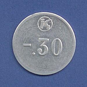 Medaille-Token-Wertmarke-30-Pfennig-Konsum-DDR-30-mm-A11-348