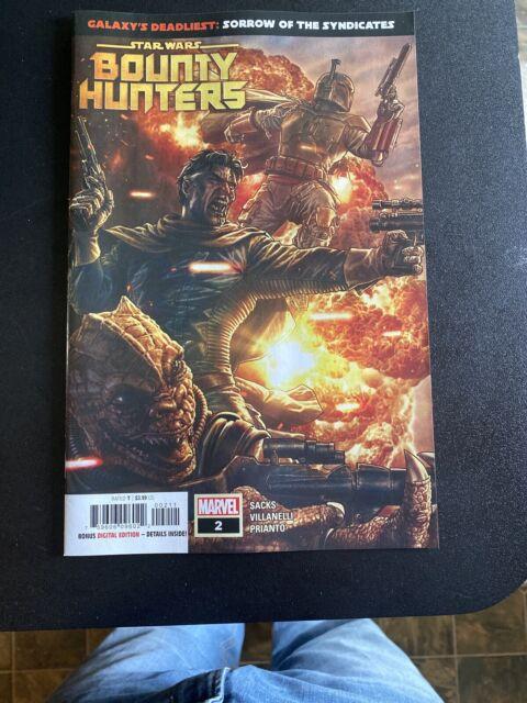 Star Wars Bounty Hunters #2 Boba Fett Marvel Comic 1st Print NM unread 2020