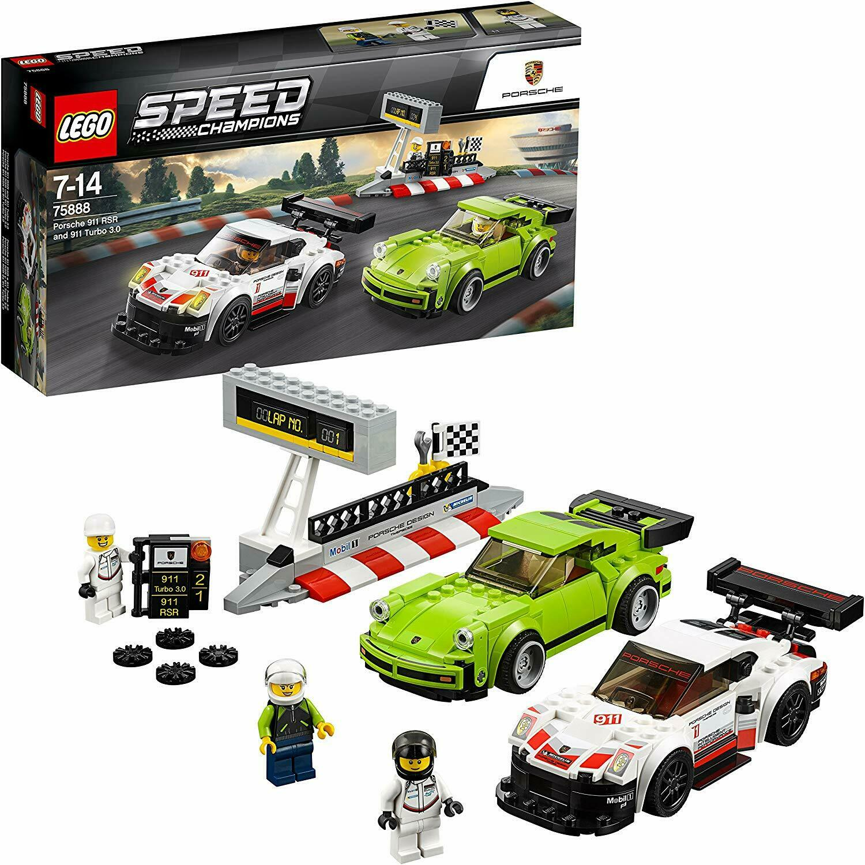 LEGO Speed Champions 75888 Porsche 911 RSR and 911 Turbo 3.0. Brand New