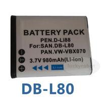 BATTERY for Panasonic HX-DC10, HX-WA10, HX-DC1 VW-VBX070, VW-VBX070E