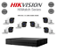 miniatuur 1 - KIT TELECAMERE VIDEOSORVEGLIANZA DVR 8 CH+6 TELECAMERE HIKVISION 1080P DVR 2MPX