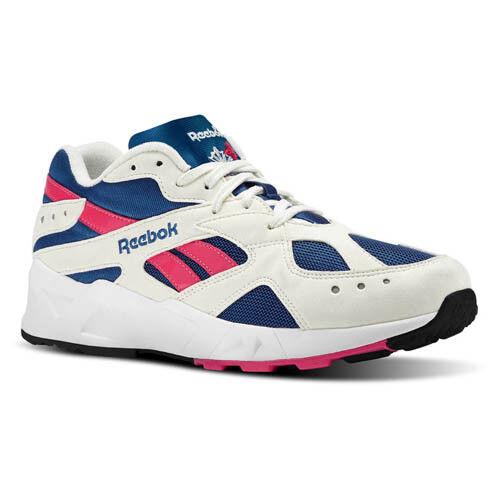 Reebok Men CN7068 AZTREK Casual zapatos blancoo azul zapatillas