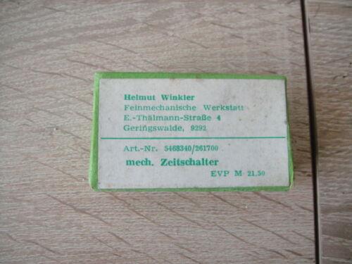 Freiflug Wassermodelle DDR Mechanischer Zeitschalter für Flugmodelle,Modellbau