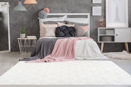 Alfombra marroquí Design patrones Maroc alfombras historial crema blanco 200x290cm