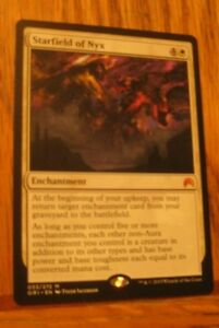1x Starfield of Nyx, MP, Magic Origins, EDH Commander Enchantment Mythic
