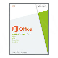 ✅ original Microsoft Office home and Student 2013 claves de licencia/Versión completa