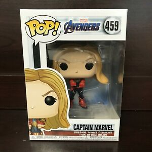 Funko-Pop-Marvel-Avengers-Endgame-Captain-MArvel-459-Vinyl-034-MINT-034-IN-STOCK