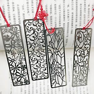 elegant flowers cute metal floral bookmarks for books book markers