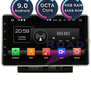 Android 9 0 10 1Inch Car DVD Radio Player For Universal Stereo GPS