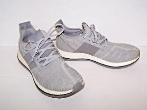 f494d501d Adidas Pure Boost ZG Running Sneakers Gray AQ6768 Mens Sz 9  UK 8.5 ...