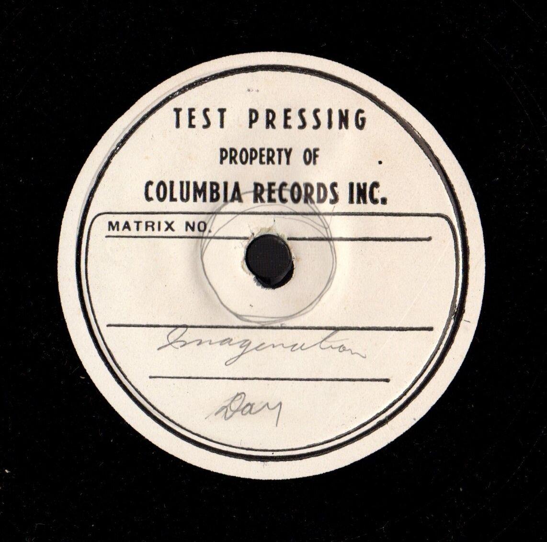 Doris Day test pressings - The Doris Day Forum