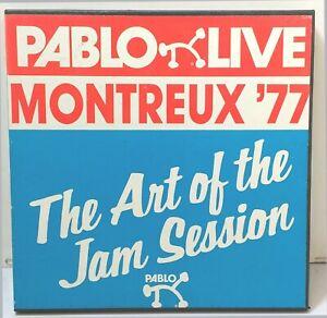 Pablo-Live-Montreux-039-77-034-The-Art-of-the-Jam-034-8-RECORD-BOX-SET