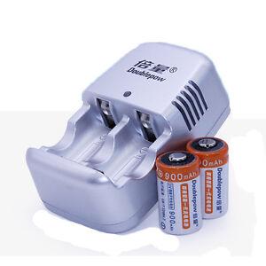 charger cr2 3v lithium lion rechargeable 3v laser camera battery and charger ebay. Black Bedroom Furniture Sets. Home Design Ideas