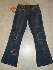 Neue Kinder-Jeans Hose Gr.152 bestickt mit Taschen     Nr.4397
