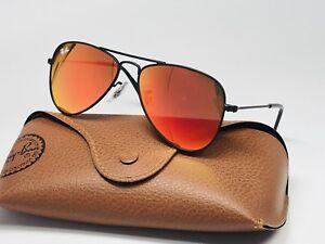 5514fd34b4 NEW Ray Ban Junior KIDS RJ 9506S 201 6Q Red Mirror Black Sunglasses ...