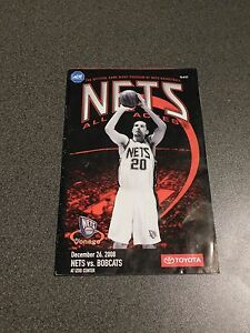 PROGRAMME-OFFiciel-NBA-BASKET-USA-NEW-JERSEY-NETS-BOBCATS-CHARLOTTE-2008