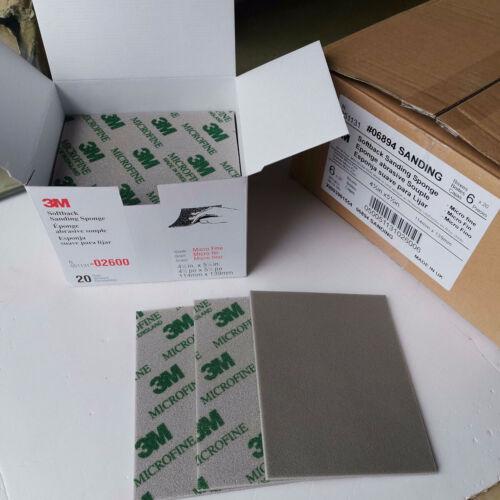 3M Schleifpapier Schwamm Schleifblätter 500-1500 Grit Sandpaper 2600 2601 2601