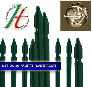 PALETTO-IN-FERRO-PLASTIFICATI-PER-RECINZIONE-METALLICA-ALTEZZA-CM-SET-10-PZ