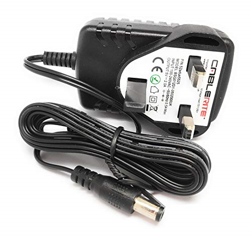 5v Power supply adapter plug cable for Revitive Medic Circulation Booster