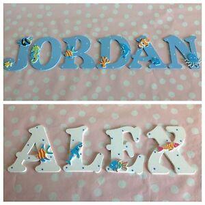 Details Zu Personalisierte Kinderzimmer Wand Tur Holz Buchstaben Namensschild Jede Farbe