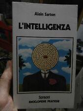 "Alain Sarton ""L'intelligenza"" Sansoni enciclopedie 1977 quoziente intellettivo"