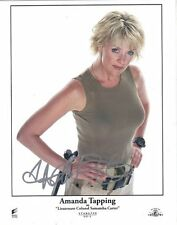 Amanda Tapping as Samantha Carter on Stargate SG-1 Autographed 8 x 10 Photo #2