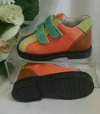 BABY SNEAKERS Kinder Schuhe MADE IN ITALY Gr. 20 Bunt