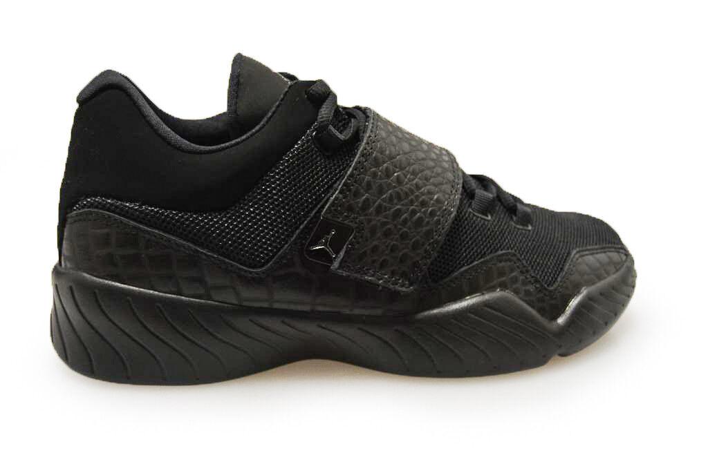 Herren Nike Jordan J23 - 854557 001 - Dreifach schwarze Turnschuhe