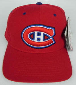 MONTREAL CANADIENS RED  NHL ZEPHYR SNIPER VINTAGE  FITTED SIZED Z CAP HAT NWT!