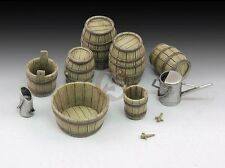 Royal Model 1/35 Wine Barrels and Farm Accessories Set [Resin Diorama Model] 641