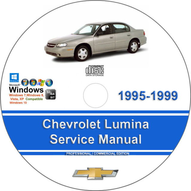 Chevrolet Lumina 1995 1996 1997 1998 1999 Factory Workshop