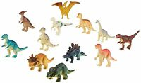 Us Toy Assorted Mini Dinosaur Plastic Figures (lot Of 12), New, Free Shipping on sale