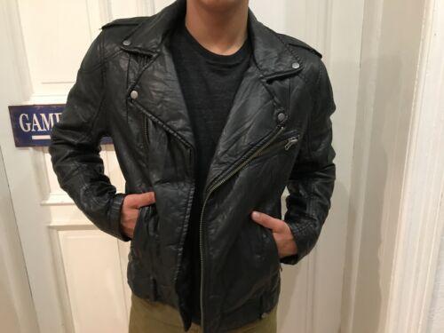 pelle in New in Like Giacca moto pelle da motociclista gr Giacca H da divisa L Black motociclista da m YxvwU1