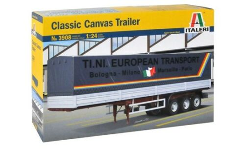 Italeri 3908-1//24 Classic Canvas Trailer Neu