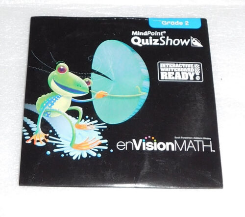 enVision Math Grade 2 CD-ROM Electronic Student Edition Mind Point Quiz Show