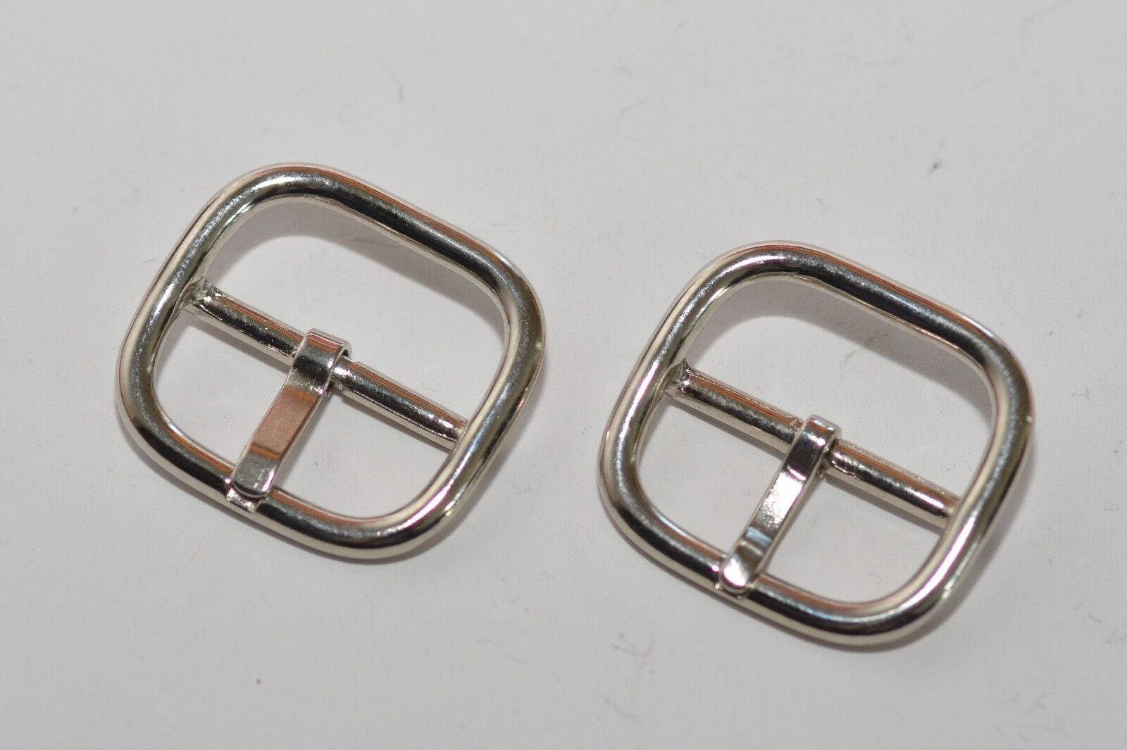 4x Belt Buckle Clasp For Approx. 25 MM Width, Silver, without Rust