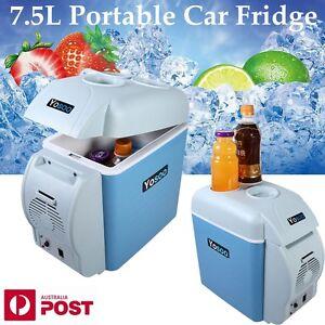 Portable-7-5L-Car-Fridge-Freezer-Cooler-Warmer-12V-Mini-Camping-Refrigerator-New