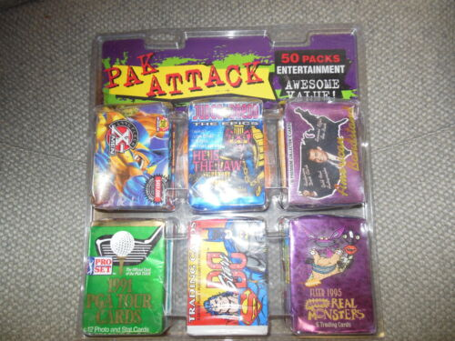 Niet-sportkaarten X-Men 50 PACKS UNOPENED X-MEN SPIDERMAN DC HEROES TEENAGE MUTANT NINGA TURTLES SEALED