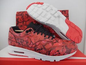 NIKE AIR MAX 1 ULTRA LOTC QS SHANGHAI CITY PACK RED SZ 6.5 FLORAL! [747105-600]