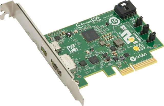 *NEW* SuperMicro AOC-TBT-DSL5320 Thunderbolt 2 with Display and GPIO cable