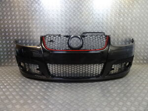 VW-Golf-MK5-GTI-Style-New-Front-Bumper-Black-Paint-code-LC9Z-1K0807217R