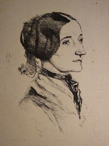 Jules-de-GONCOURT-1830-1870-EAU-FORTE-ORIGINALE-PORTRAIT-JEUNE-FEMME-MONNIER