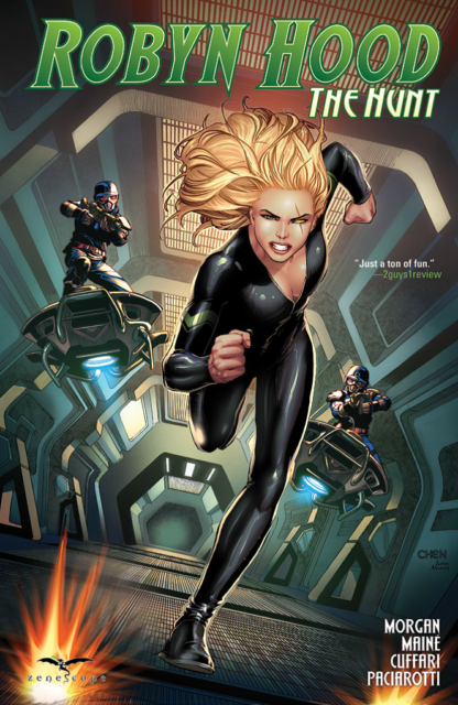 ROBYN HOOD THE HUNT Softcover Graphic Novel from Grimm Fairy Tales Zenescope