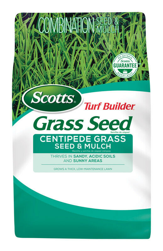 Scotts Turf Constructor ciempiés semilla, mantillo & fertilizante 5 LB.