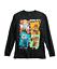 L NEW Roblox Big Boy Long Sleeve Tee Shirt Top Black M XL